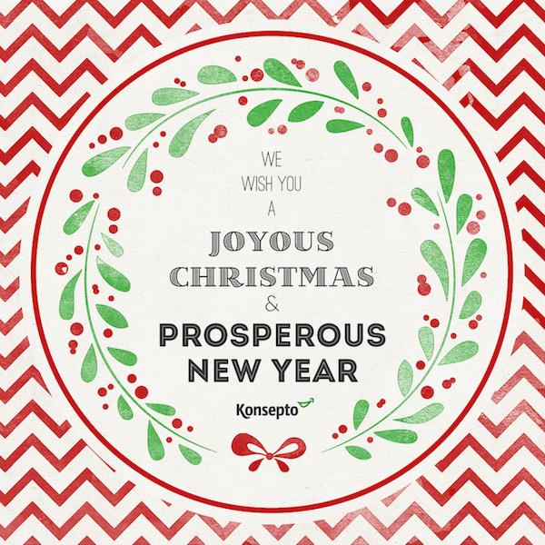 Merry Christmas from Konsepto